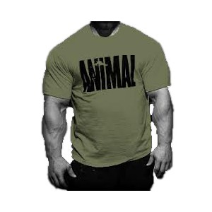 T-Shirt Animal Iconic Army Green