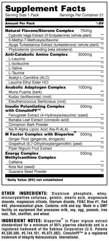 Animal M-Stak 21 packs - Universal Nutrition Europe - Universal Sportvoeding